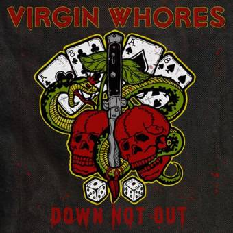 "Virgin Whores ""Down not out"" EP 7"" (lim. 400, white + download code)"