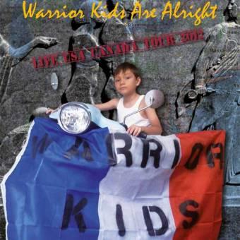 "Warrior Kids ""Live Canada 2012"" CD"