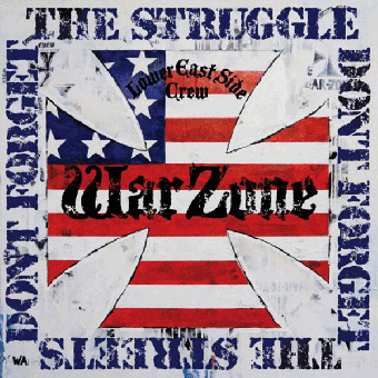 "Warzone ""Don`t Forget The Struggle"" LP (lim. 1086, blue)"