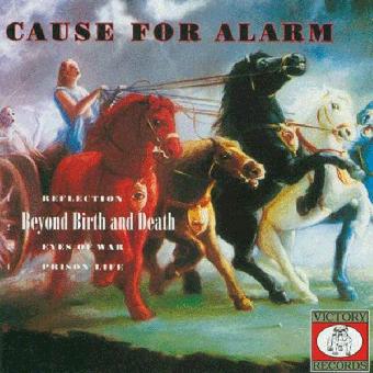 """split Warzone / Cause For Alarm """"same"""" 12"""" MLP (lim. col.) + MP3"""