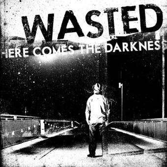 "Wasted ""Here comes the darkness"" LP"