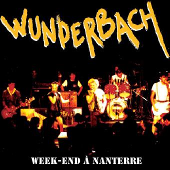 """Wunderbach """"Week-End A Nanterre (live 1984)"""" LP (lim. 500, black)"""