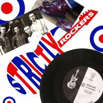 """Ya Freshness """"Reggae Skins"""" - Strictly Rockers Vinyl series#1 EP 7"""""""