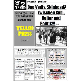 Yelloi Press #1 - Fanzine (D) (A4, colored)