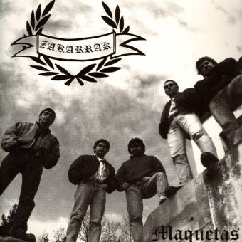 "Zakarrak ""Maquetas"" LP (lim. 100, brown)"