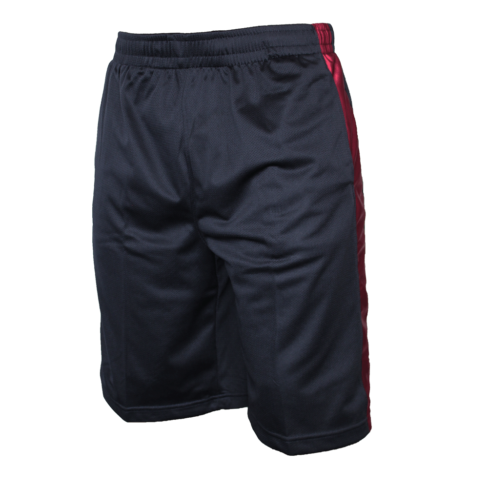 urban classics bball mesh shorts navy ruby order. Black Bedroom Furniture Sets. Home Design Ideas