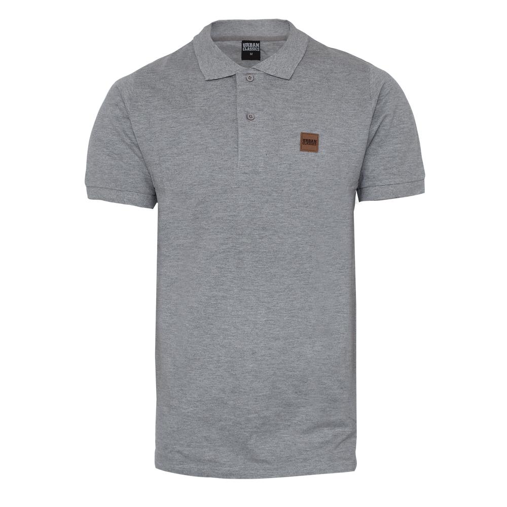 Urban Classics Polo Shirt Grey Order Online Spirit Of The Streets