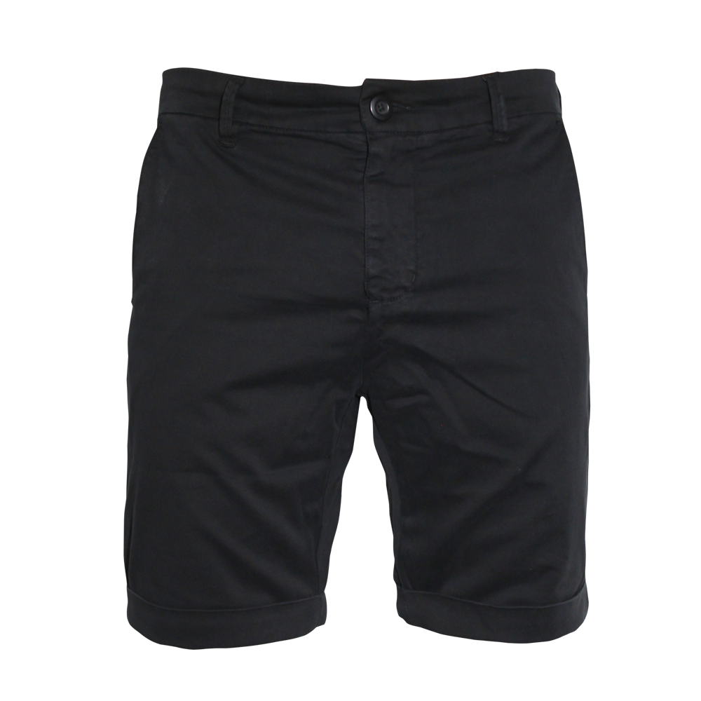 urban classics turnup chino shorts black order online. Black Bedroom Furniture Sets. Home Design Ideas