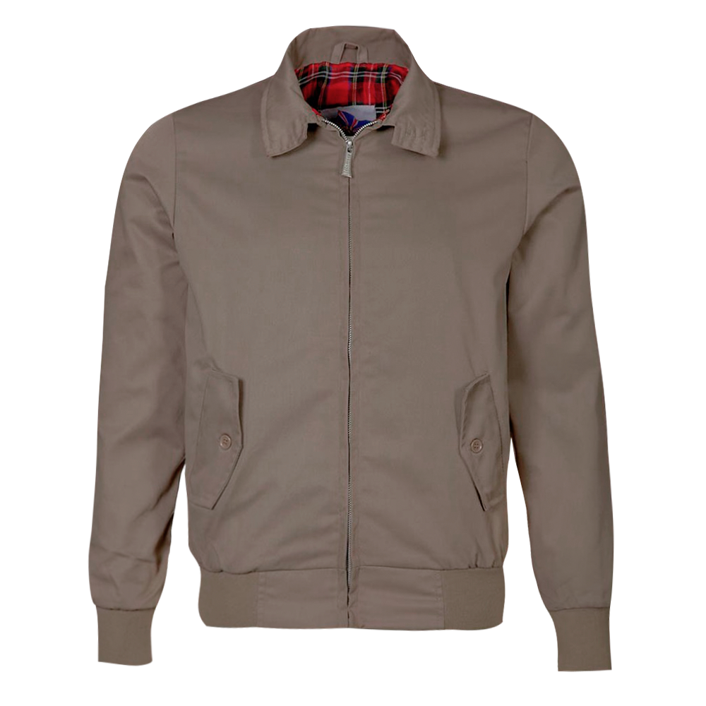 Beige Harrington Jacket New Classic Trendy Vintage Retro Scooter 'S Bombers. by Pro Scottish LLC. $ $ 55 FREE Shipping on eligible orders. Product Features Beige Harrington Jacket New Classic Trendy Vintage Retro Scooter 'S Bombers. Realdo Womens Shearling Cardigan, Clearance Sale Warm Long Faux Fur Solid Parka Jacket Outerwear.