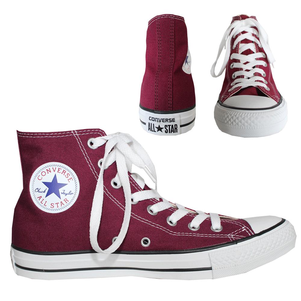 "Converse ""All Stars"" High Sneaker (maroon)"
