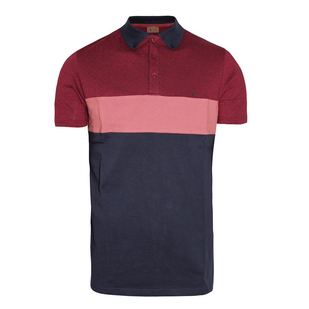 Gabicci Vintage Retro Polo (cardinal) | order online - SPIRIT OF THE STREETS