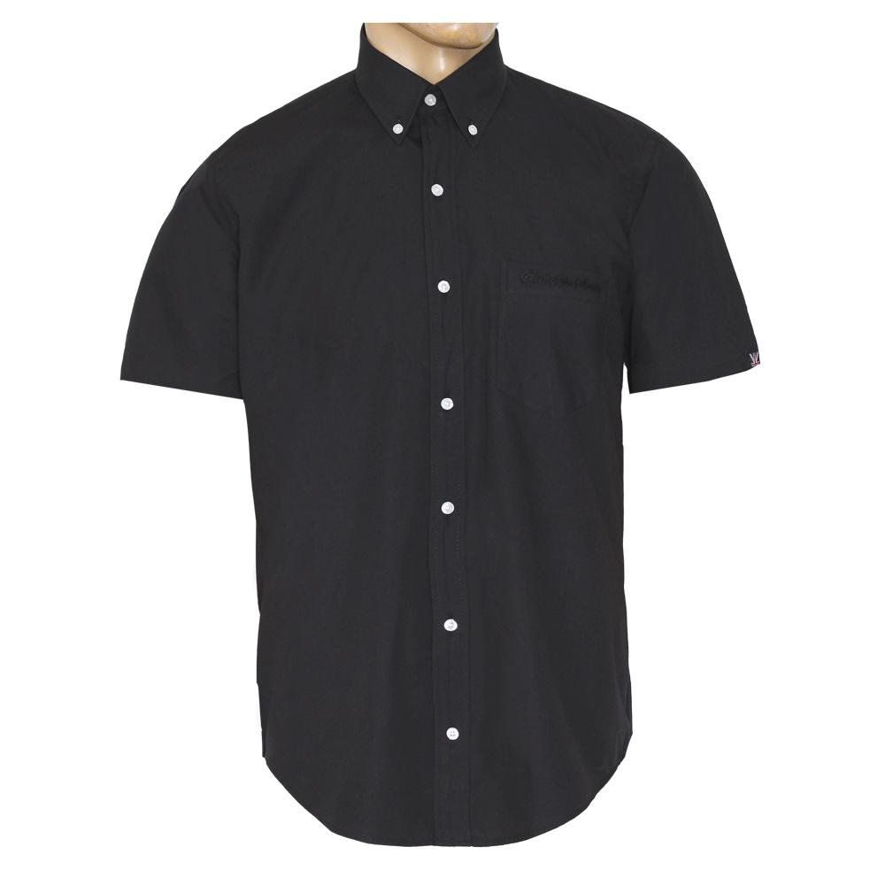 sots black button down hemd kurz order online. Black Bedroom Furniture Sets. Home Design Ideas
