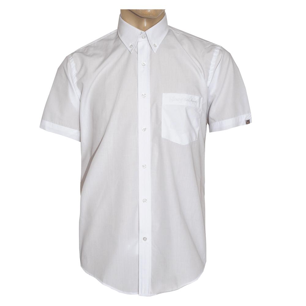 sots white button down hemd kurz kaufen bei spirit. Black Bedroom Furniture Sets. Home Design Ideas