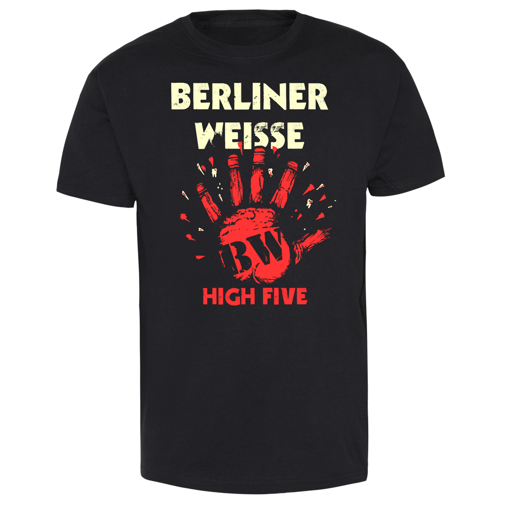 berliner weisse high five t shirt. Black Bedroom Furniture Sets. Home Design Ideas