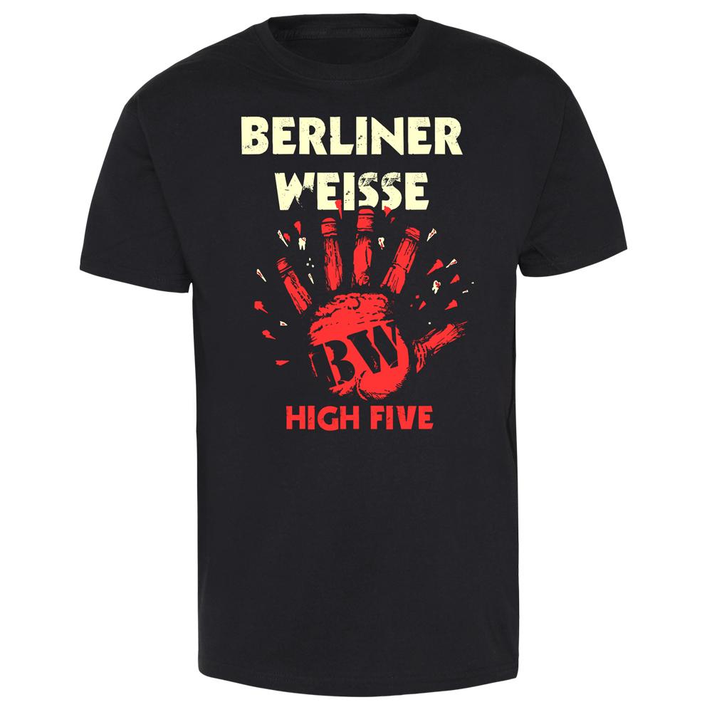 berliner weisse high five t shirt magasin en ligne spirit of the streets. Black Bedroom Furniture Sets. Home Design Ideas