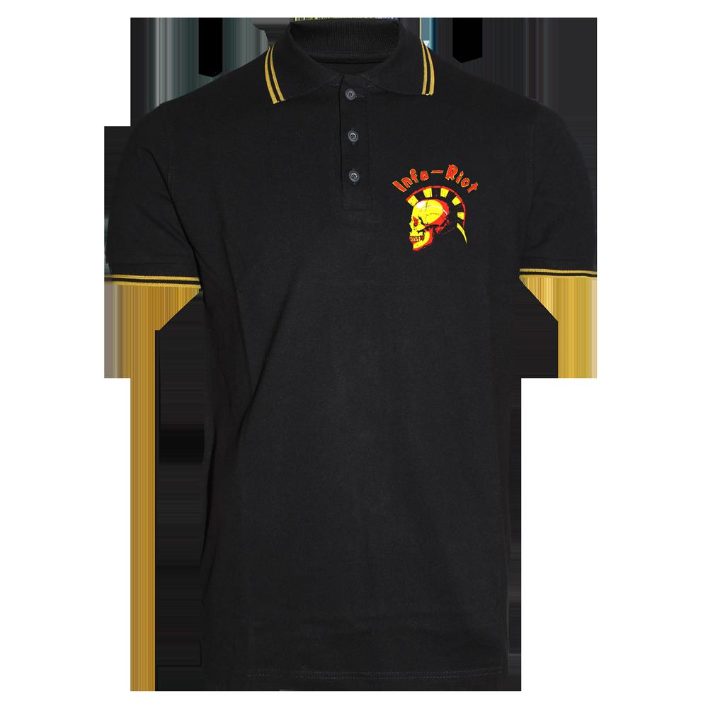 Infa Riot Skull Polo Shirt Kaufen Bei Spirit Of The Streets