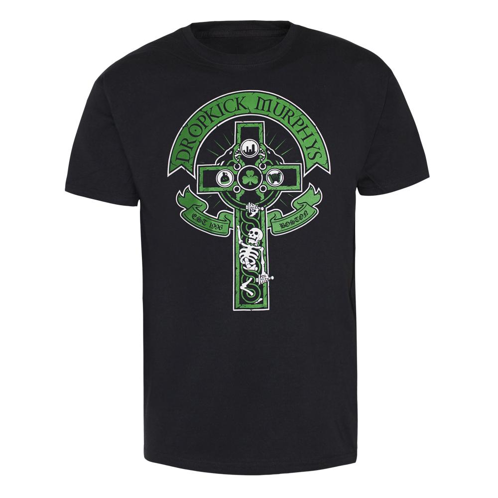 "Dropkick Murphys ""Cross Skeleton"" T-Shirt"