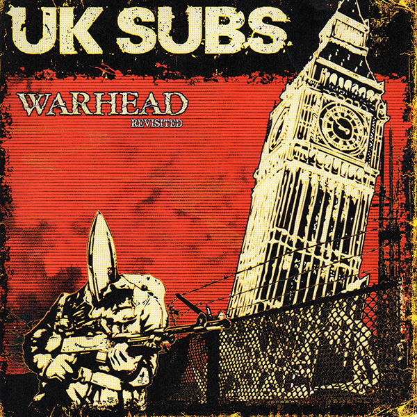 Uk Subs Quot Warhead Revisited Quot Cd Lim Digipac Kaufen Bei